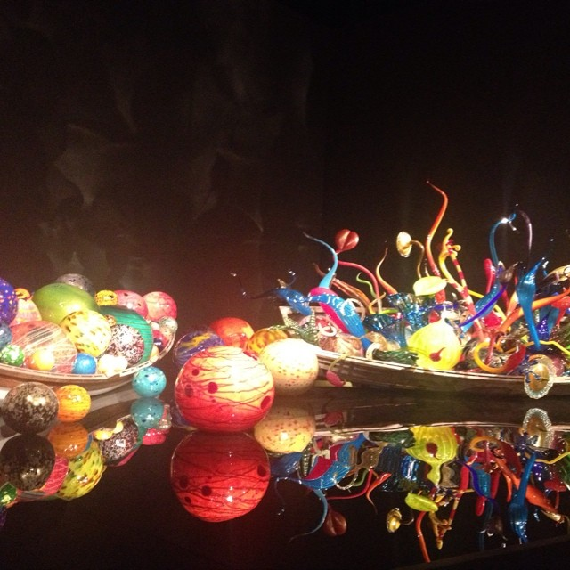 Chihuly museum in Seattle #masterofhort #Seattle #Chihuly