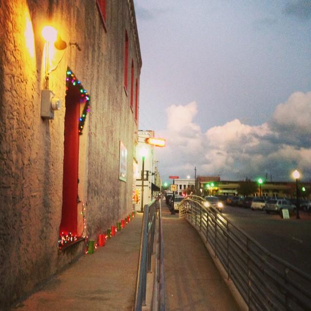 Love my small town!  Brenham, Tx at dusk #masterofhort #forevertexas #countryliving #smalltownusa